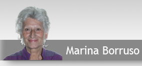 screen shot of Marina Borruso's website