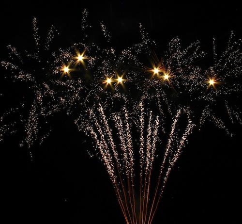 firework shooting stars