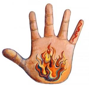 fire hand + mercury